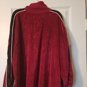 Urban Outfitters Tops - URBAN OUTFITTERS Velvet pullover with pockets XL